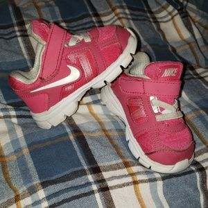 Baby girl Nike shoes size 4c